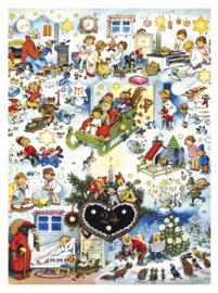 11728 XL Adventskalender: Peperkoekhart