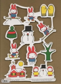 Dick Bruna Winter poezieplaatjes