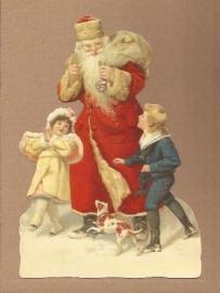 Kindjes bij de Kerstman poezieplaatjes 5137