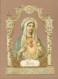 Religeuze afbeelding Maria poezieplaatjes 5144