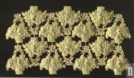 Bloemenmanden (14) gouden poëzieplaatjes 1124