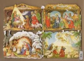 Kerststallen Gloria in Exelsis Deo Poëzie plaatjes 7202