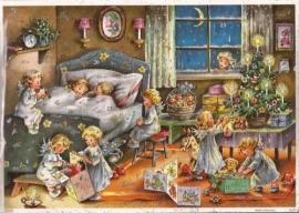 10357 Verrassing van de Kerstengeltjes Adventskalender
