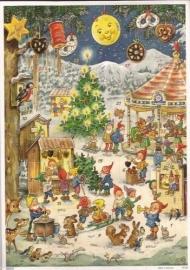 10100 Kabouter Kerstmarkt Adventskalender