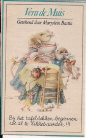 Vera de Muis Tafeldekken hoekje Libelle