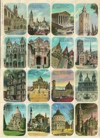Editions Hemma No 31939 - Planche No 147 Religieuze Monumenten