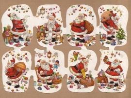 Kruger Kerst poezieplaatjes met glitter 3