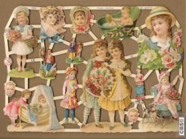 Kinderen uit het verleden Poëzie plaatjes 7249