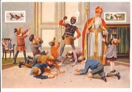 Snoepgoed van Sinterklaas prentbriefkaart [C8247]