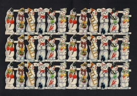 M.P. 866 Sneeuwpopjes poezieplaatjes