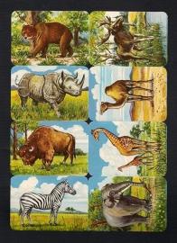 Kruger 99/4 Wilde dieren poezieplaatjes