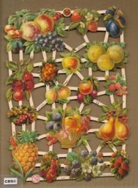Fruit & fruitmand poezieplaatjes 7274