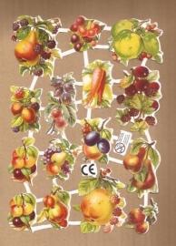 Fruit Deense poezieplaatjes D19