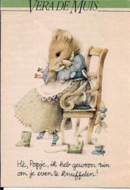 Vera de Muis Knuffelen hoekje Libelle