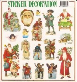 Poezieplaatjes Kerst stickers