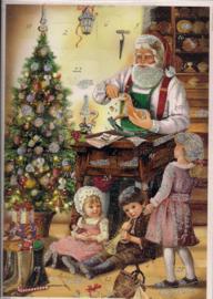 10441 De Kerstman maakt geschenken Adventskalender