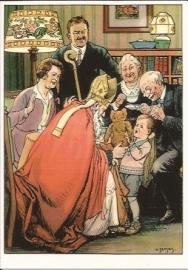 Cadeautjes van Sinterklaas C.Jetses prentbriefkaart [D915]