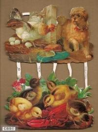 Kippen en kuikens poëzieplaatjes 7090