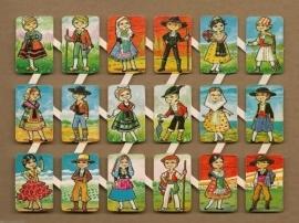 Loroño klein Klederdrachten (3) Spaanse poezieplaatjes