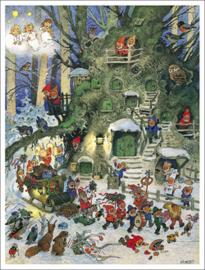 11571 XL Adventskalender: Kerst Lampionen dwergen optocht
