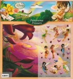 Disney Fairies Tinkerbell panorama met plaatjes 670688