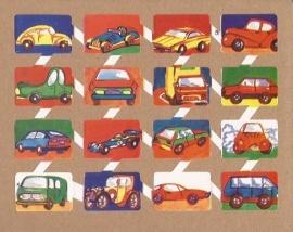 Zulia 16 oude Spaanse poezieplaatjes Auto`s