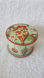 Kerstornamenten - doosje met zeep