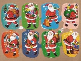 Kruger Kerst poezieplaatjes met glitter 4