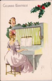Gelukkig Kerstfeest -Dames zingen kerstliederen [14238]