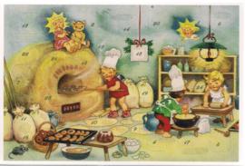 Adventskalender Kaart: Lekkernijen voor de Kerst - 12405