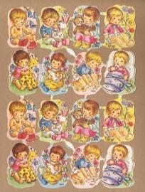 Kruger 171/272 Kleine Kindjes poezieplaatjes
