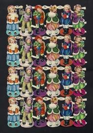 M.P. 779 Kerstkindjes poezieplaatjes (A)