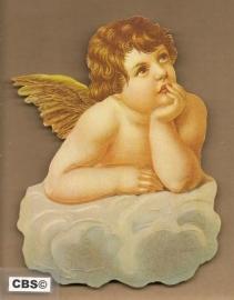 Engeltje in overpeinzing poezieplaatjes 5016