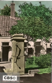 Haarlem - Hofje van Loo - oude kaart [10280]