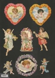 Poezieplaatjes los Harten engelen van liefde 7269