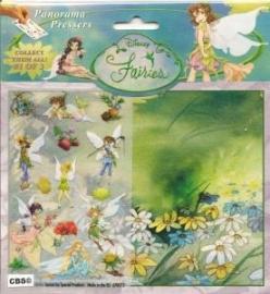 Disney Fairies panorama met plaatjes 670481