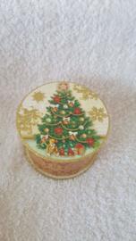 Nostalgische kerstboom - doosje met zeep