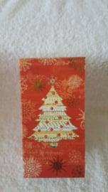 Kerstboom rood - doos met zeep en speeldoosje