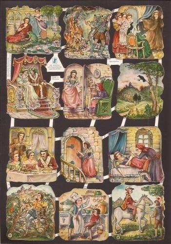 WS Dornröschen 1 oude poezieplaatjes