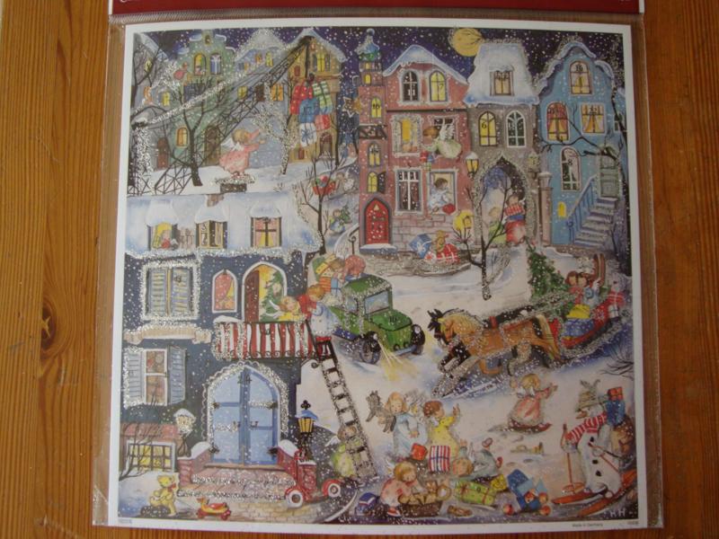 10436 XL Adventskalender: Engeltjes zijn overal in het Kerstdorp