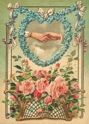 Gefeliciteerd met bloemen en hart Reliefkaart EF 3023
