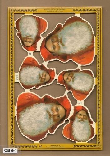 Kerstmankopjes groot en klein A 179