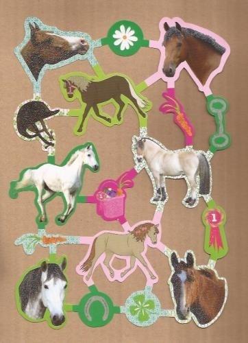 Hippe kleurige Paarden poezieplaatjes