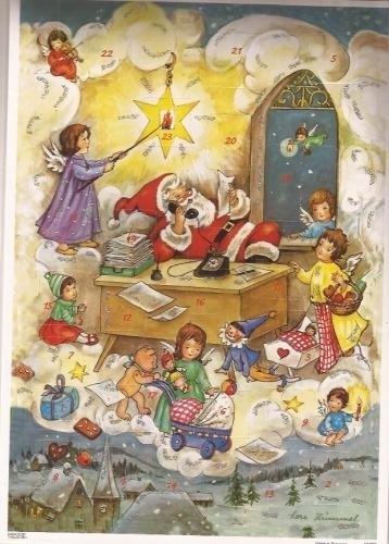 10099 Kerstman zorgt voor geschenken Adventskalender