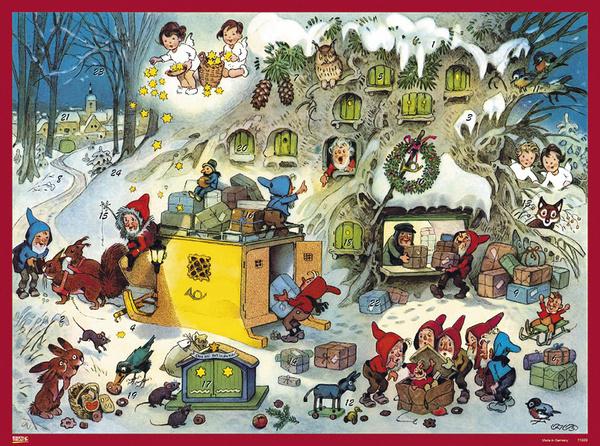 11689 XL Adventskalender: Kerstpostkantoor van de Dwergen