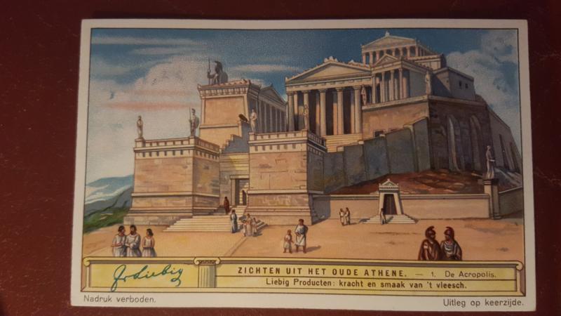 Liebig: Zichten uit het oude Athene: 1. De Acropolis