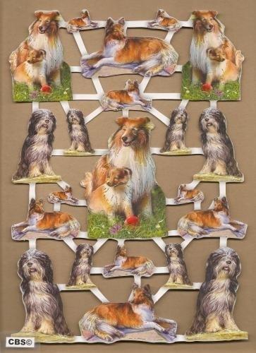 Lassie & Bobtail met goud poezieplaatjes 572536