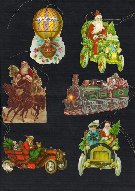 Cadeaulabels Kerst enzo 6 stuks