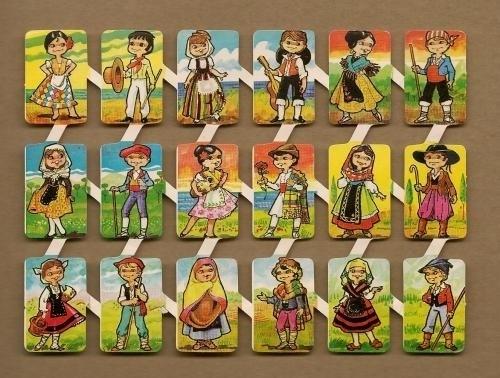 Loroño klein Klederdrachten (2) Spaanse poezieplaatjes