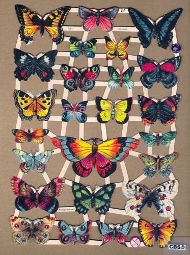 Vlinders groot en klein poëzieplaatjes 7324